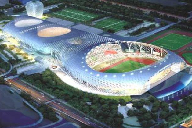 Stadium Lighting|Shenzhe Cocoon Stadium
