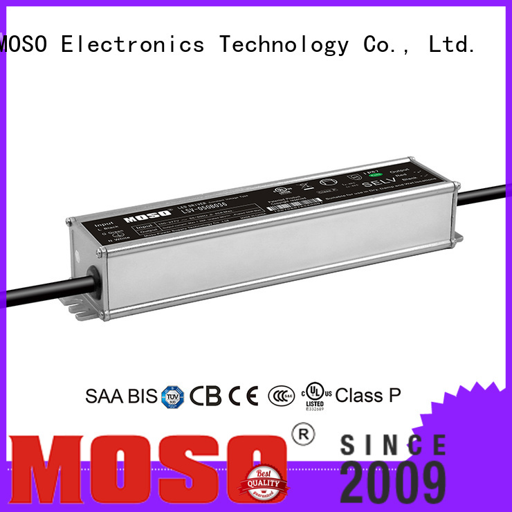 MOSO quality waterproof electronic led driver from China for scenery