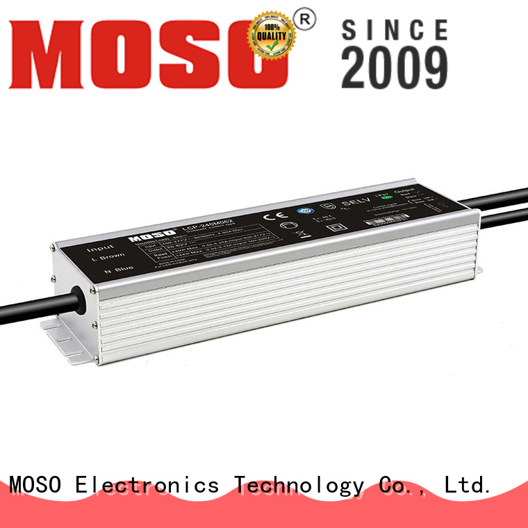 MOSO quality outdoor programmable led driver for outdoor