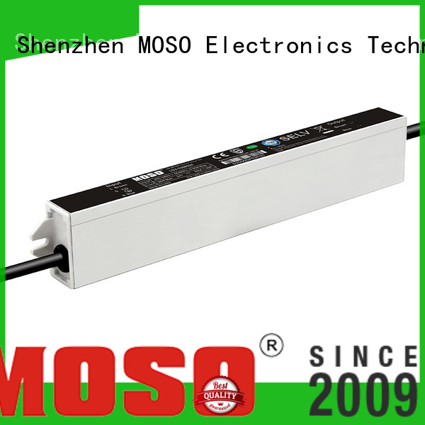 MOSO reliable 24v led driver for villa