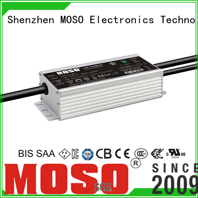 MOSO led power supply factory for alley