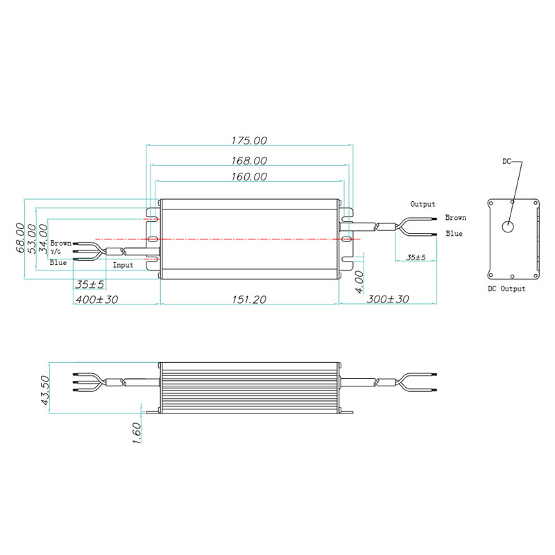 200W Non-isolated LED driver