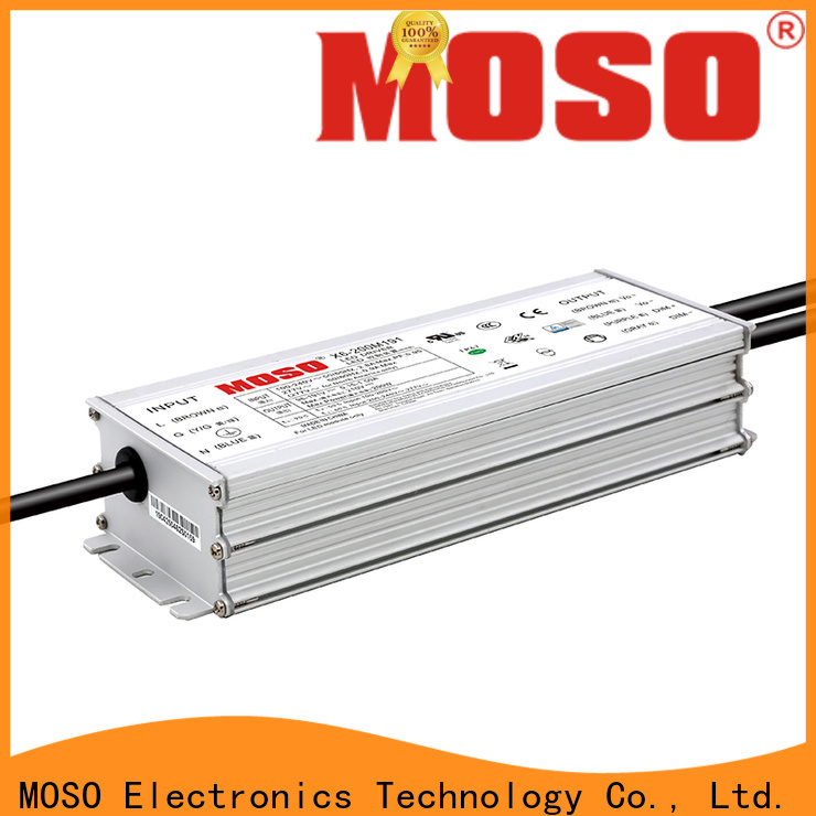 MOSO 200w led power supply 24v with good price for outdoor