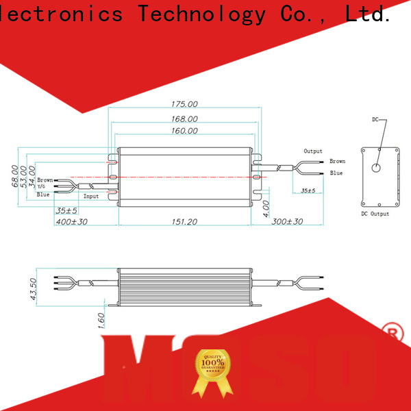 MOSO ac led driver from China for industry