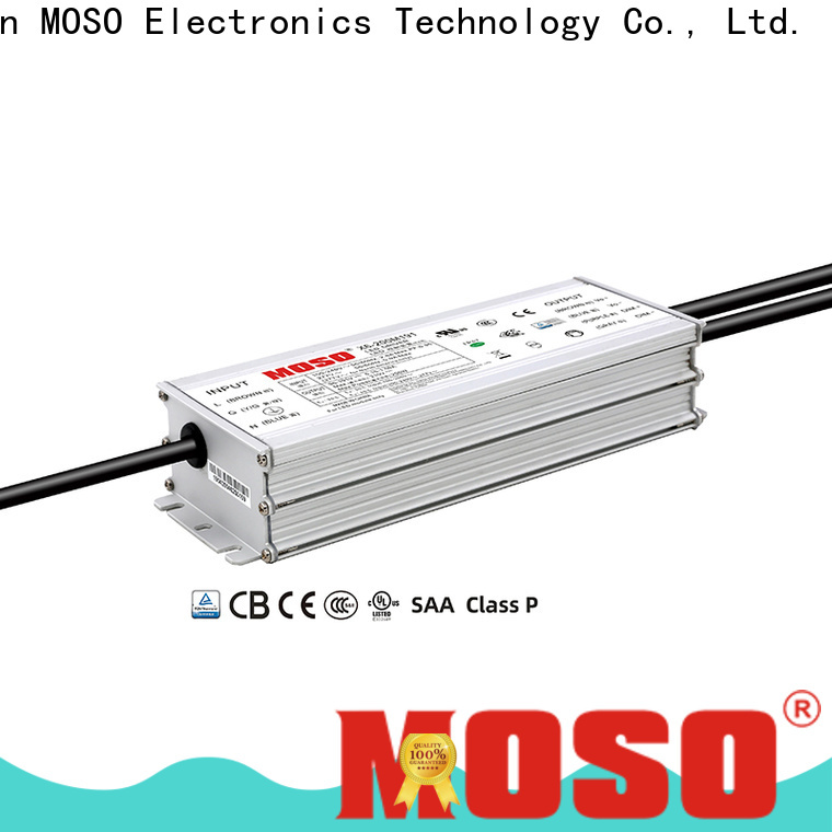 MOSO led power supply 24v design for street
