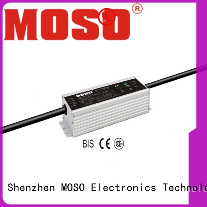MOSO constant-current led power supply from China for alley