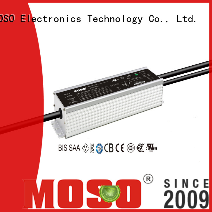 MOSO 42w dimmable led driver design for outdoor