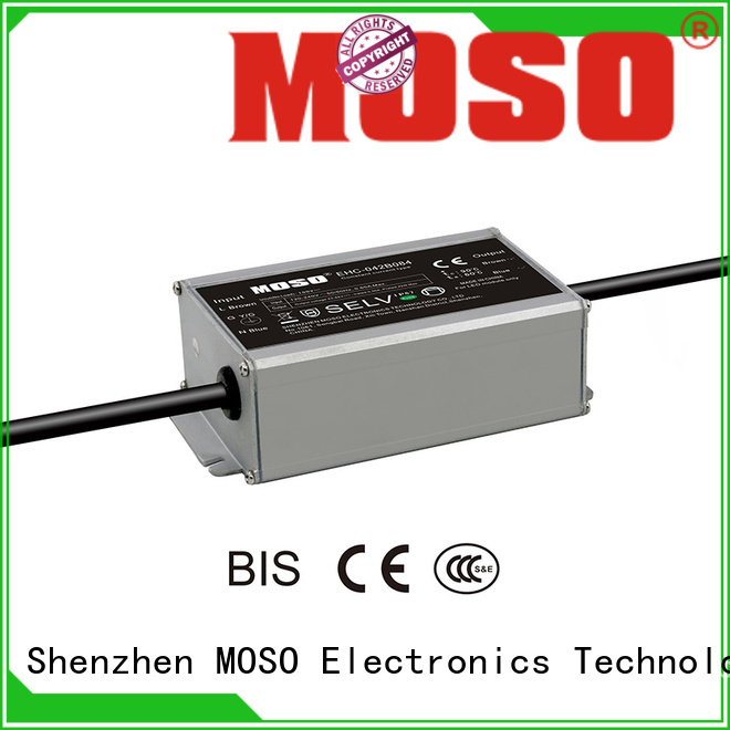 MOSO constant-current led power supply series for avenue