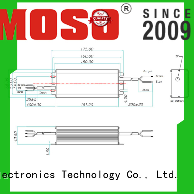 MOSO practical non isolated driver customized for outdoor