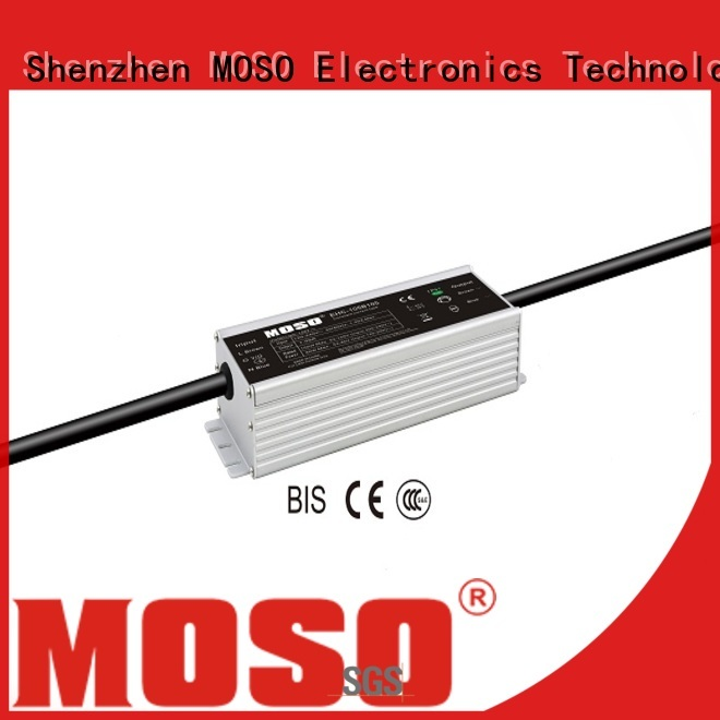 MOSO durable constant-current led power supply customized for outdoor