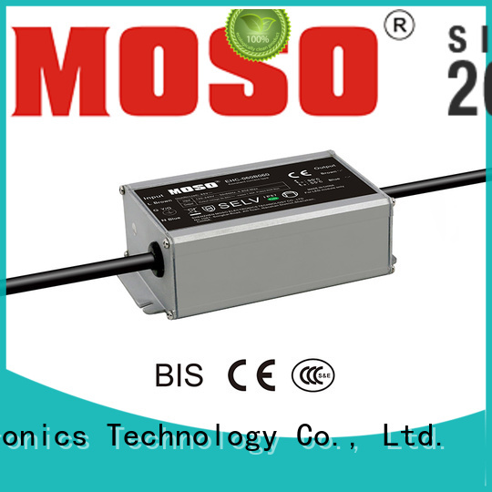 MOSO reliable constant-current led power supply from China for alley