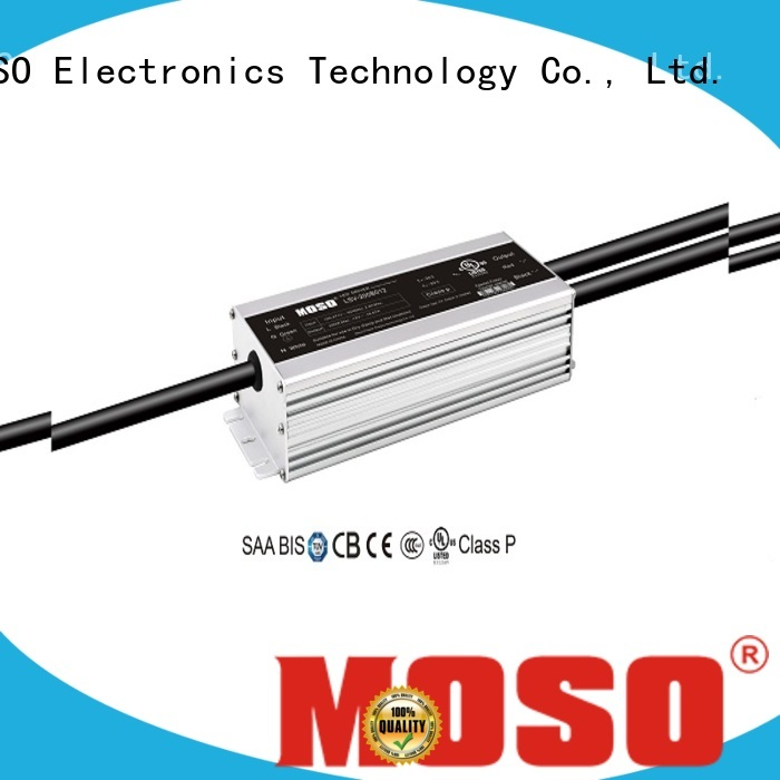 MOSO waterproof led driver customized for view