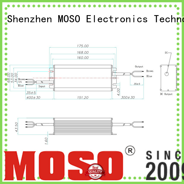 MOSO non isolated driver from China for commercial