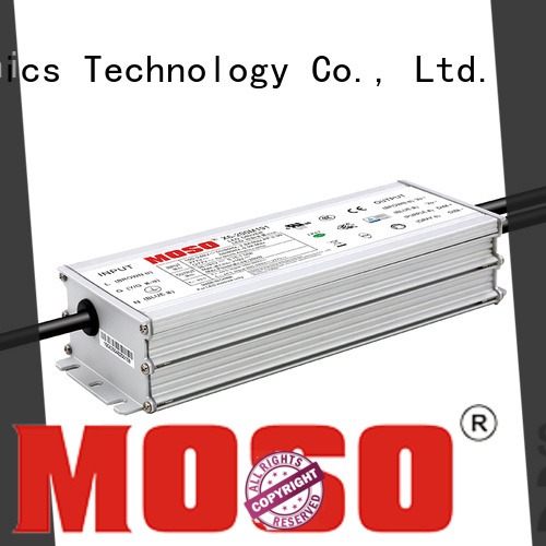 MOSO led power supply 24v factory for alley