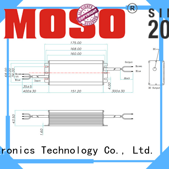 MOSO non-isolated led driver customized for commercial