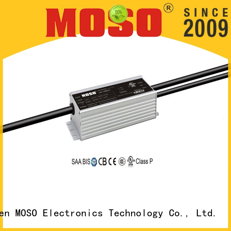 MOSO waterproof led power supply series for scenery