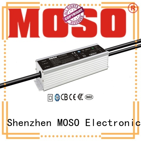 MOSO certificated outdoor programmable driver design for railroad