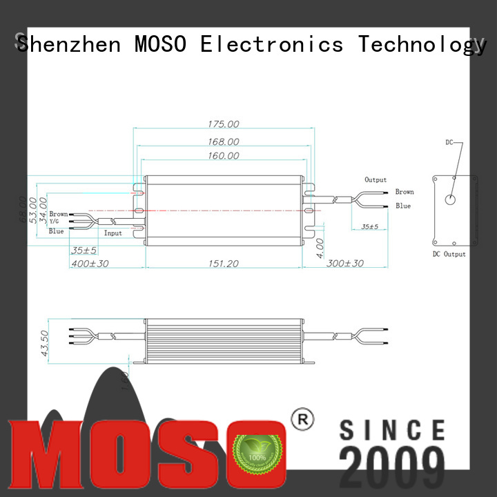 MOSO practical 150w led driver for commercial