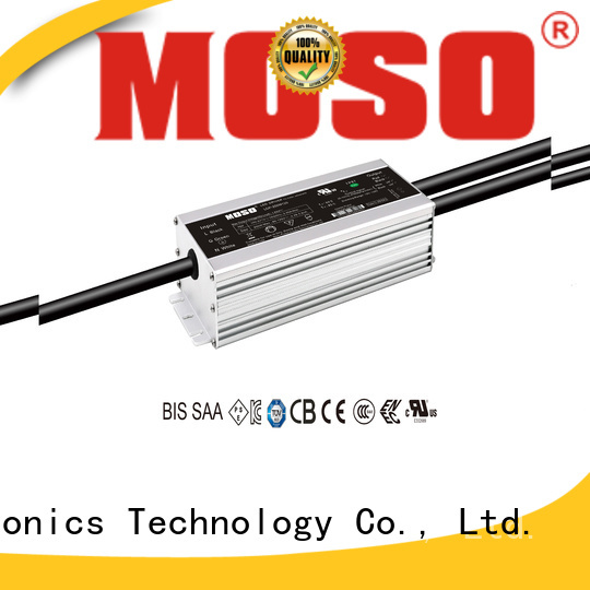 MOSO certificated dimmable led driver with good price for street