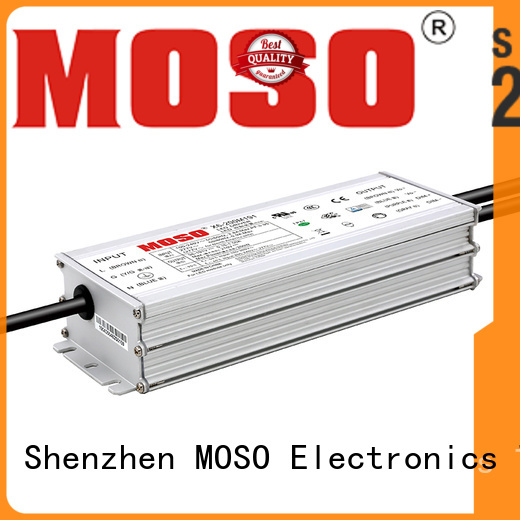 MOSO 75w ac dimmable led power supply design for street