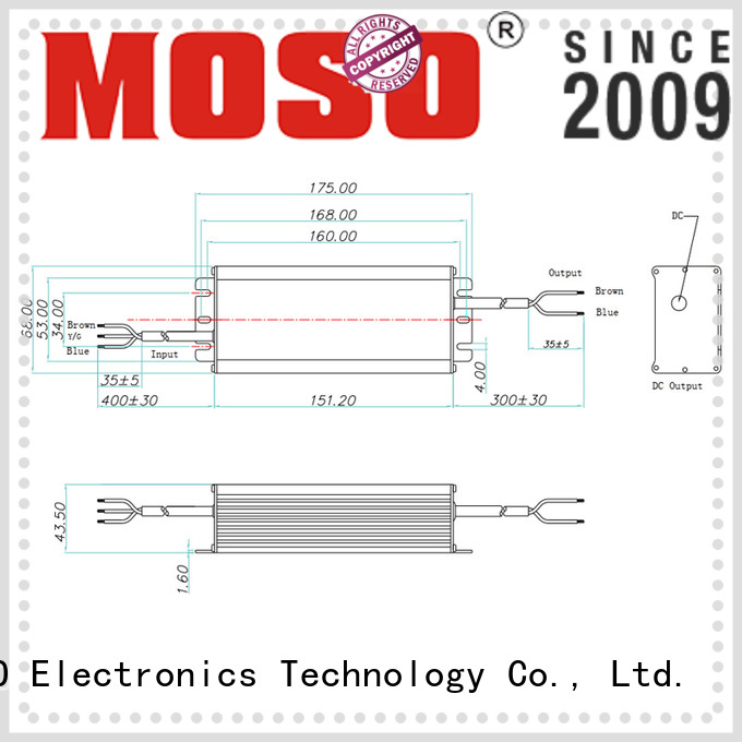 MOSO ac led driver manufacturer for commercial