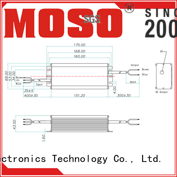 non-isolated led driver from China for outdoor MOSO